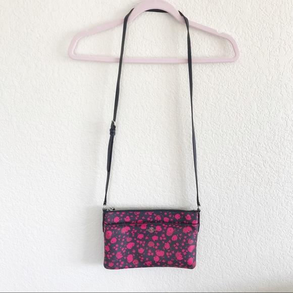 Coach Handbags - COACH F56838 CROSSBODY Prairie Calico Ruby Floral